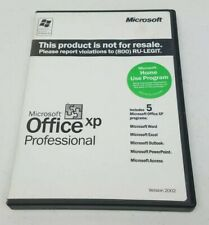 Microsoft Office XP Professional Version 2002 (1 License) Pre Owned