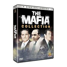 THE MAFIA COLLECTION NEW 9 DVD SET MOBSTERS AL CAPONE SCARFACE THE MOB GANGSTERS