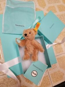 Tiffany x Steiff 2020 Holiday Ornament Brown Bear Limited Sold Out