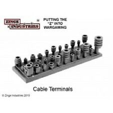 Zinge Industries Cable Terminals Plugs & End Caps for Wrapped Wire S-FOR04 Bits