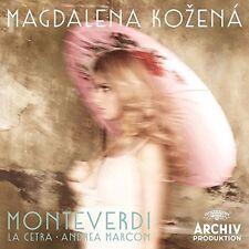 Monteverdi - Magdalena / La Cetra Barockorchester Basel Kozena (2016, CD NEUF)
