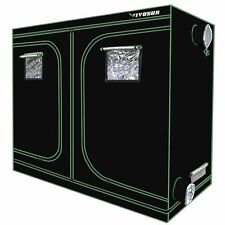 "VIVOSUN 96""x48""x80"" Mylar Hydroponic Grow Tent for Indoor Plant Growing 8' x 4'"