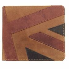 Mustard Union Jack Brown Wallet