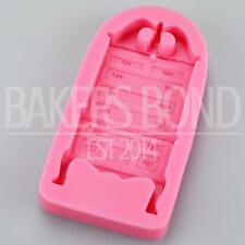 Tall Vintage Chest of Drawers Silicone Mould Fondant Icing Cake Cupcake Topper