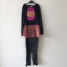 NEW! Girls Cat Woman Halloween Costume With Headband, Age 7-8 Years - GEORGE