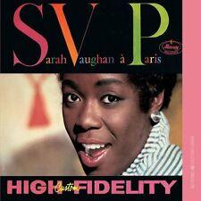 Sarah Vaughan III  -  Sarah Vaughan  A Paris     New cd
