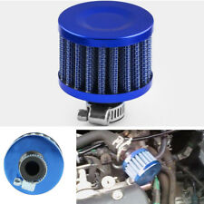 Auto Car 12mm Breather Air Intake Filter for oil Catch Tank Crankcase Vent Blue