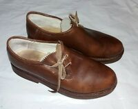 1960 Vintage Tufsyn Goodyear Womens Brown Leather Oxford Shoes 7.5