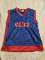 MLB Chicago Cubs Sleeveless Nike Summer Jersey- Child size 7
