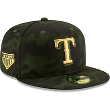 save off a8591 9c92c Texas Rangers New Era 2019 Armed Forces Day On-Field 59FIFTY Fitted Hat
