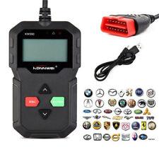 Car Vehicle OBD 2 Obd2 OBDII EOBD Diagnostic Scanner Fault Code Reader Scan Tool