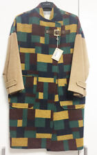 [Band of Outsiders] Multi Color Plaid Oversized Coat Sz 1, US 6-8 / New with Tag