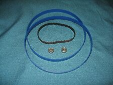 2 BLUE MAX BAND SAW TIRES DRIVE BELT AND NEW THRUST BEARINGS FOR DELTA 28-150