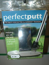 Perfect Putt Training Aid - Fits all putter make & models - Watch it on Youtube
