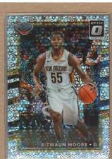 E'Twaun Moore 95 2017-18 Donruss Optic Fast Break Holo Prizm
