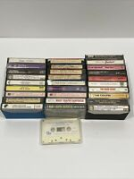 Cassette Tape Lot Of 29 Carpenter, Chapin, Warwick, Kenny Rogers, Mix Tapes