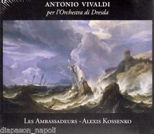 Vivaldi: L'Orchestra di Dresda Vol 1 / Kossenko, Les Ambassadeurs - CD