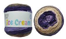 Ice Cream Yarn 200g 380m 100% Acrylic 8 ply like Caron Cake Lilac Frost
