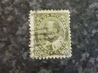 CANADA POSTAGE STAMP SG185/6 TWENTY CENTS FINE USED