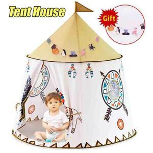 Tent House 123*116cm Portable Princess Castle Present For Kids Children Play Toy