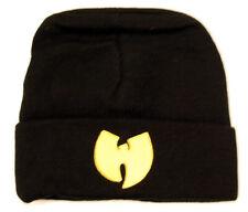 Wu Wear Wu-Tang clan Wu Symbol Beanie Mütze Bonnet black schwarz Wollmütze