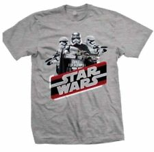 Star Wars T Shirt Official Licensed Disney product GREY EPVII Vintage Phasma NEW