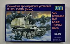 Lot 11-320 * UM 1:72 Scale kit No. 346, SPG Sd.kfz. 138/1M Bizon