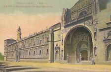 Tarjeta Postal. 19. León. Monasterio de San Marcos. Historia y arte.