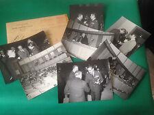 7 FOTO BIANCO E NERO - CONVEGNO U.G.A.I. L'AVIAZIONE FA NOTIZIA - 13 XI 1968