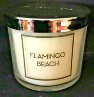 *New* FLAMINGO BEACH single wick Candle ~ Bath & Body Works~Ships Free!