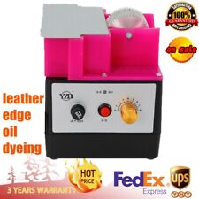 Leather Top Edge Electric Applicator Leather Edge Dyes Banding Machine 8W Sale