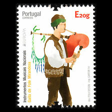 "Portugal 2014 - EUROPA ""Musical Instruments"" Music Foklore Art - MNH"