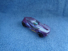 Hot Wheels 2009 Mattel Urban Agent Purple Car Made in Malaysia
