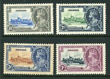NIGERIA 1935 KING GEORGE V SILVER JUBILEE STAMP ISSUE
