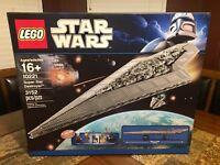 LEGO STAR WARS SUPER STAR DESTROYER 10221 UCS BOX ONLY RARE!