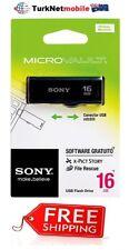 Sony 16GB MicroVault USB 2.0 Hi-Speed Flash Drive