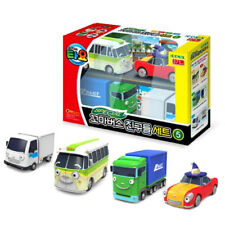 The Little Bus TAYO Friends Special 4 pcs V.5 Car Toy NEW Buba Lucy Big Tony
