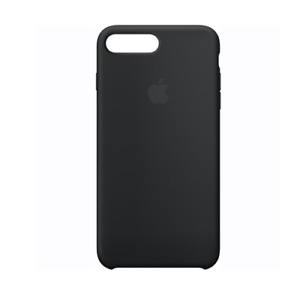 Apple MMQR2ZM/A Silicone Phone Case for iPhone 7 Plus Black