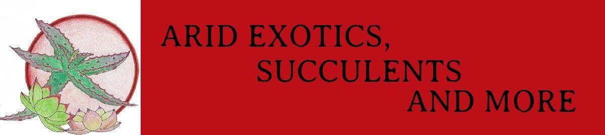 ARID EXOTICS,SUCCULENTS and more