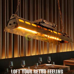 "31""Industrial Steampunk Chandelier Pool Table Ceiling Light Fixture Pendant Lamp"