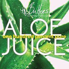 Aloe Vera Juice Gel - Organic, Pure 8oz (not from concentrate, no sugar)