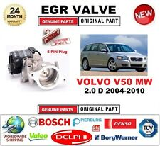 FOR VOLVO V50 MW 2.0 D 2004-2010 Electric 5-PIN EGR VALVE with GASKETS/SEALS