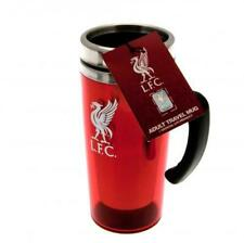 Liverpool FC Official Crested 450ml Stainless Steel Travel Mug Present Gift