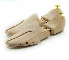 Unisex Shoe Trees Twin Tube Durable Adjustable New Zealand Pine Wood