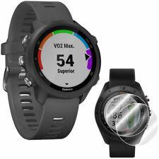 Garmin Forerunner 245 Gps Sport Watch (Slate) + Screen Protector 2-Pack Bundle