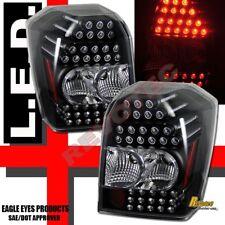 2006 2007 2008 Dodge Caliber Black LED Tail Lights Lamps 1 Pair