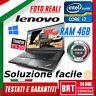 "PC NOTEBOOK LENOVO THINKPAD T530 15.6"" CPU I7 4GB RAM WINDOWS 10 PRO GRADO A+!"