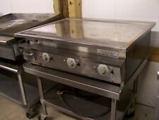 """KEATING 36"""" CHROME TOP GRIDDLE"""