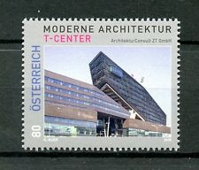 Austria 2016 MNH Modern Architecture T-Center 1v Set Buildings Stamps