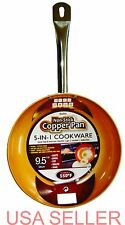 Non-Stick Frying Pan 9.5 inch Ceramic Induction Base, Dish Washer Safe New